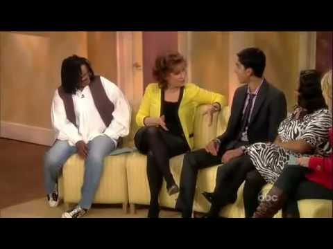 Dev Patel on The View - 03/02/09 Video