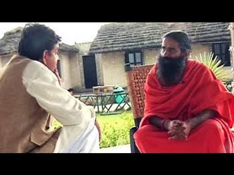 In conversation with Baba Ramdev from his own humble dwelling