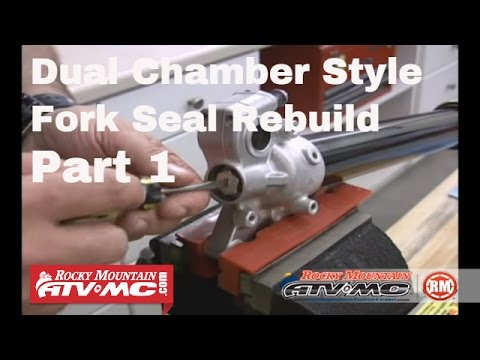 Fork Seal Replacement Part 1 (of 2) Twin Chamber Style Forks
