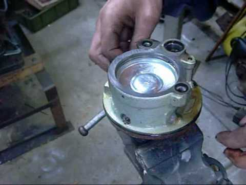 Ford Saginaw Vane Type Power Steering Pump Disassembly
