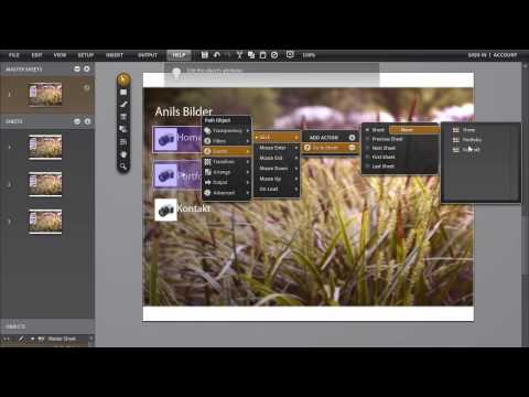 Adobe ROME tutorial - Professionelle Flash Website erstellen
