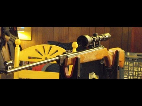 Xisico XS-B28 Pellet Rifle Review / RWS 350 Magnum Clone (OVER 1400FPS)