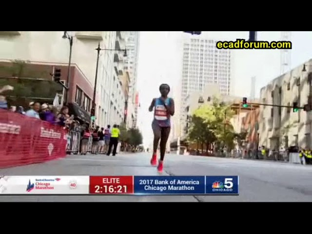 Ethiopia's Tirunesh Dibaba Wins 2017 Chicago Marathon