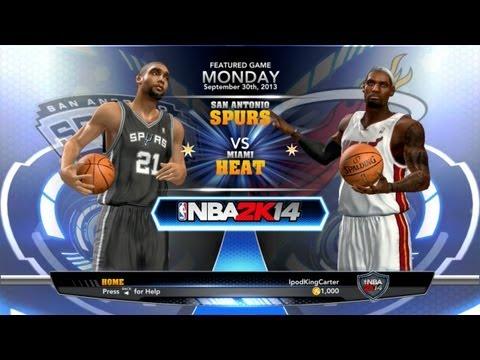 NBA 2K14 Menus - New Modes & Features + Sneak Peek For My Overseas Fans!!