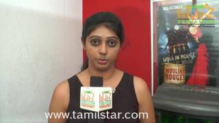 Kalyani Nair At Pudhusa Naan Poranthen Movie Team Interview