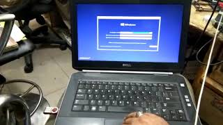 DELL e5420 dalet patesen  and intal windos 10