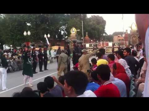 Full Ceremony Pakistan Side Border, Wagha Border, Parade India Pakistan Flag By Zahid Part 1 video
