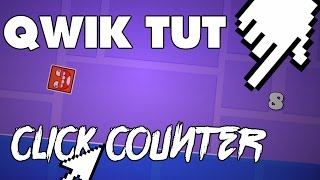 Easiest 2-Trigger Click Counter! // Geometry Dash 2.1 Qwik Tutorial