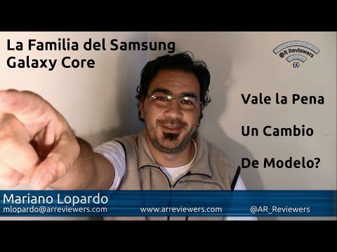 Comparación Samsung Galaxy Core. Galaxy Core Plus y Galaxy Core Advance
