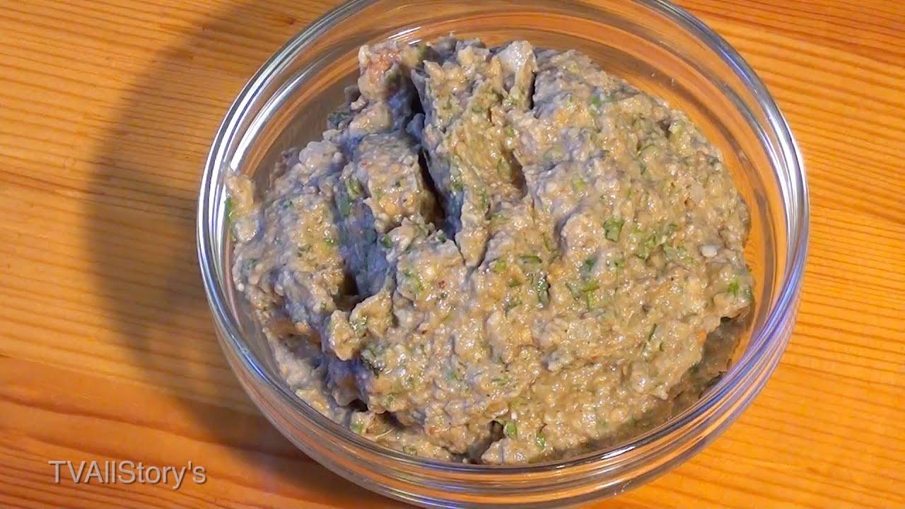Пхали из баклажан рецепт