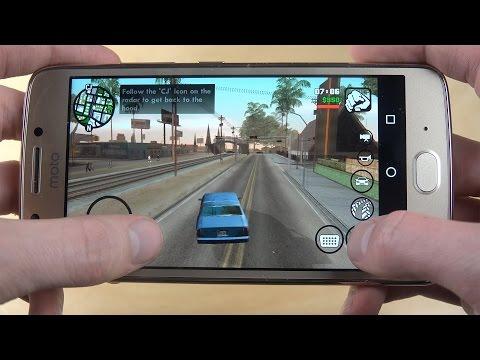GTA San Andreas Moto G5 Gameplay Review!