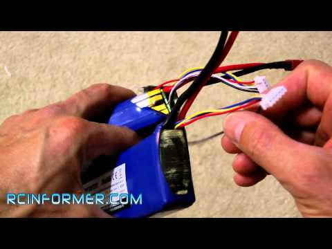 LIPO Battery Balance lead repair by rcinformer.com