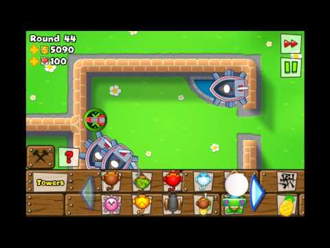 Bloons Tower Defense 5 - [NEW] Brick Wall (Hard) iPhone/iPod/iPad