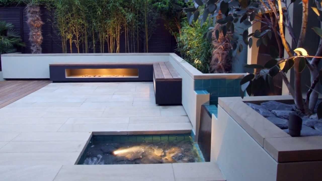 Contemporary Landscaping Of A North London Back Garden By