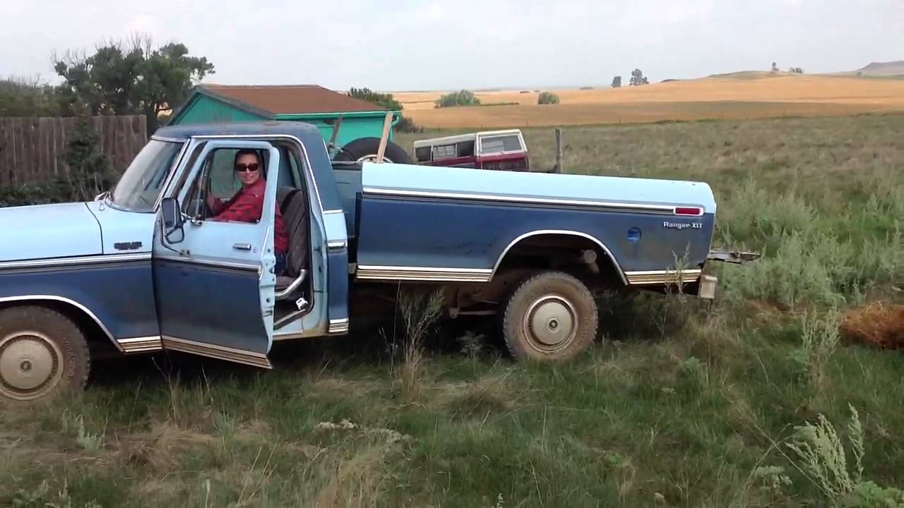 1973 Ford Xlt Ranger Pickup Youtube