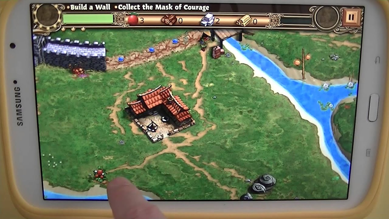 Gameplay android samsung galaxy note 8 n5110 a grande for A grande muralha da china