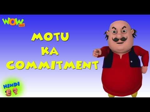 Motu Ka Commitment - Motu Patlu in Hindi WITH ENGLISH, SPANISH & FRENCH SUBTITLES thumbnail
