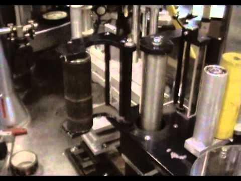 Автоматическая наклейка этикетки