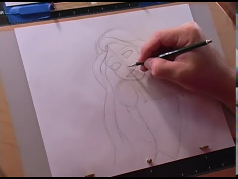 How to Draw Rapunzel