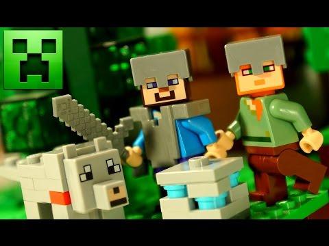 #6 Мультики Майнкрафт. Лего Майнкрафт Анимация. Lego Minecraft Animation Stop Motion