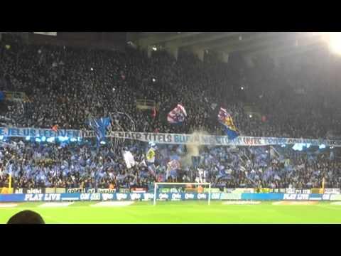 Schitterende sfeer voor Club Brugge - KAA Gent