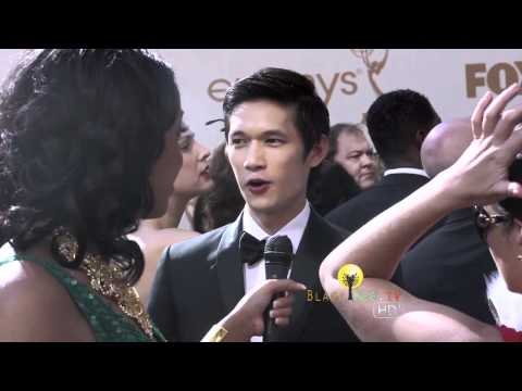 EMMYs Red Carpet w/ Glee's Harry Shum, Jr.