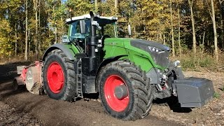 Fendt 1050 Vario needs his horsepower in the forestry Trekkerweb agco power