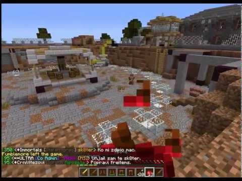 Minecraft Server HighSchool DxD [Hunger Games] 1.6.4