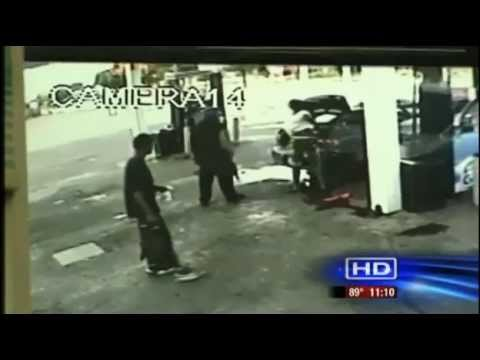 Fatal shooting caught on camera