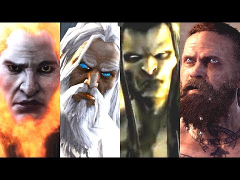 Evolution of Final Bosses in God of War Games (2005-2018)