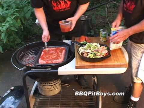 Meatloaf Hamburger Barbeque by the BBQ Pit Boys