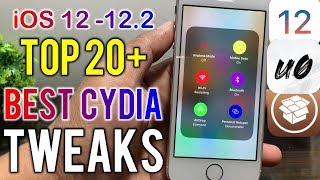 TOP 20+ PLUS - BEST Jailbreak Tweaks For iOS 12 - 12.2 (Unc0ver Jailbreak)