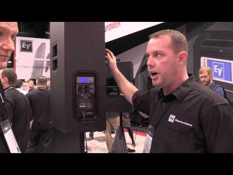 Electro Voice ETX 35P from #NAMM2014: By John Young  of the Disc Jockey News