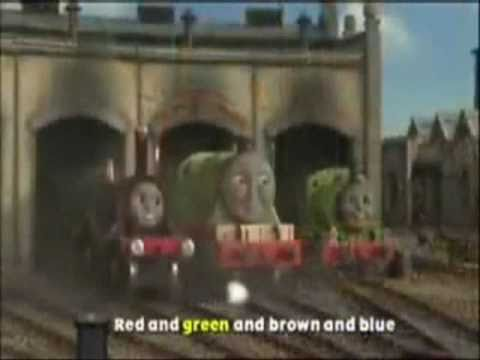 Thomas And Friends Song - For 10 Minutes - (also With Words And Great For Keeping Kid s Occupied)) video