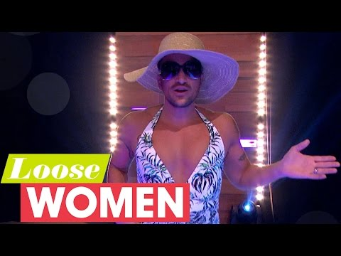 Peter Andre Struts His Stuff In A Women's Swimsuit | Loose Women