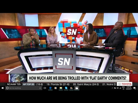 SportsNation: Is Kyrie Irving right about Flat Earth ? - Mark Sargent  ✅