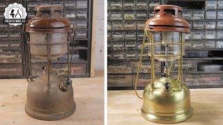 Broken Tilley Storm Lamp Restoration