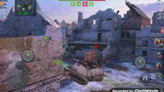 Играю в World of tanks dliz на 6 уровне  Nasharn ветка Германия