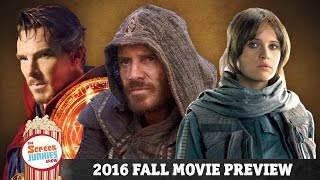 2016 Fall Movie Preview!