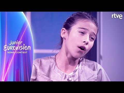 MELANI CANTA 'MARTE' EN DIRECTO | Eurovisión Junior 2019 | A partir de hoy