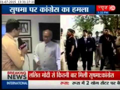 Digvijay Singh takes on Sushma Swaraj