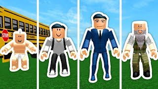 FROM YOUNG TO OLD IN ROBLOXIAN HIGHSCHOOL!!