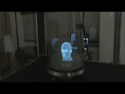 3D HOLOGRAM DEMONSTRATION