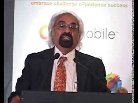 Sam Pitroda at Telecom Leadership Forum