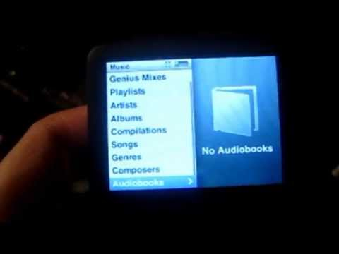 Coby MP3 player vs iPod Classic... examination and comparison
