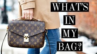 WHAT'S IN MY BAG | LOUIS VUITTON POCHETTE METIS | Shea Whitney