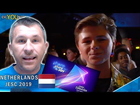 THE NETHERLANDS: Matheu - Dans met jou | Junior Eurovision 2019 - REACTION