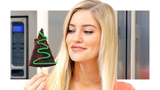 🎄 How to make Christmas Tree Brownies!