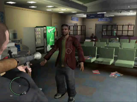 Gta 4 pc Caidas, golpes y accidentes parte 7