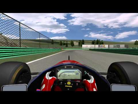Demonstration lap with default setup rFactor F1 1994 Jordan 194 @ Vallelunga + onboard Mod: Formula 1 1994 LE by F1-S-R Track: Vallelunga by zero-g.